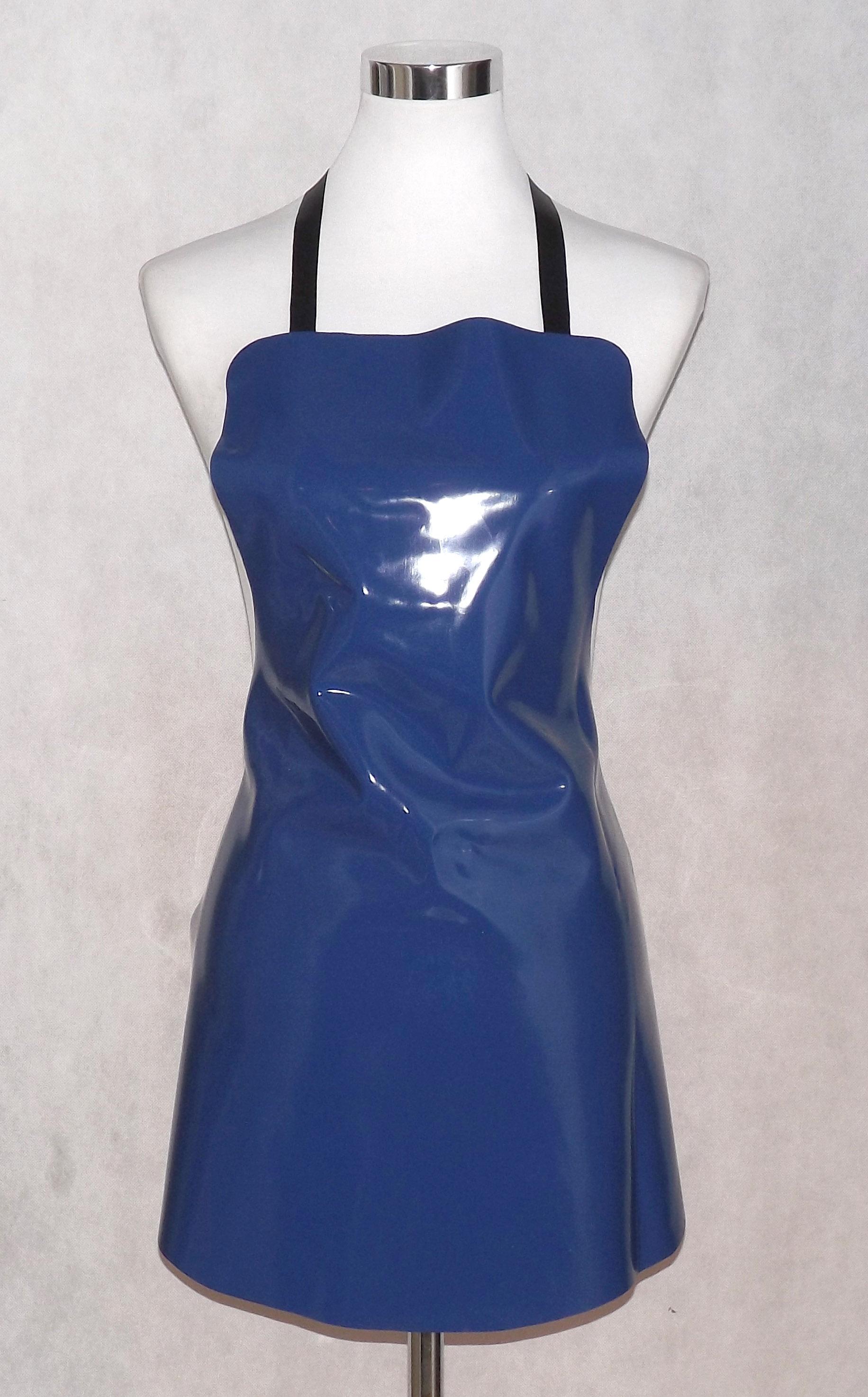 Latex-Universal-Schürze-blau-0,6mm